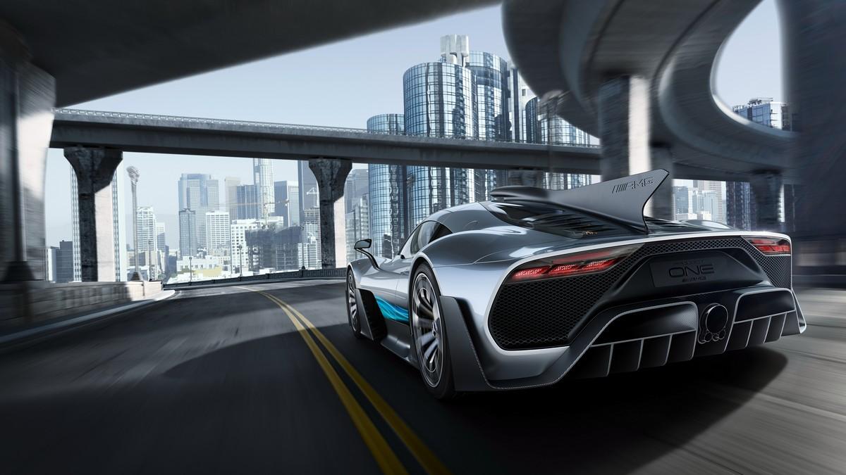 Mercedes Project One in pista alla MilleMiglia